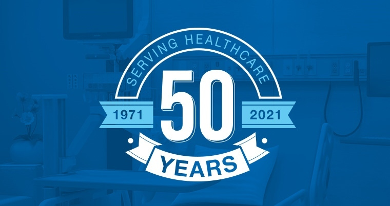 A Brief History of 50 Years Serving Healthcare