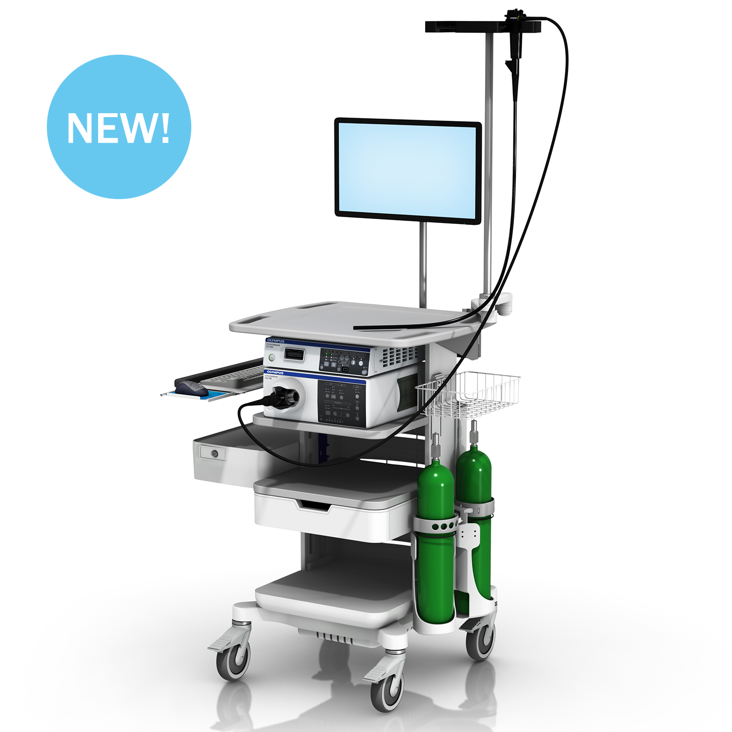 The New GCX Endoscopy Cart: Designed with the GI Professional in Mind