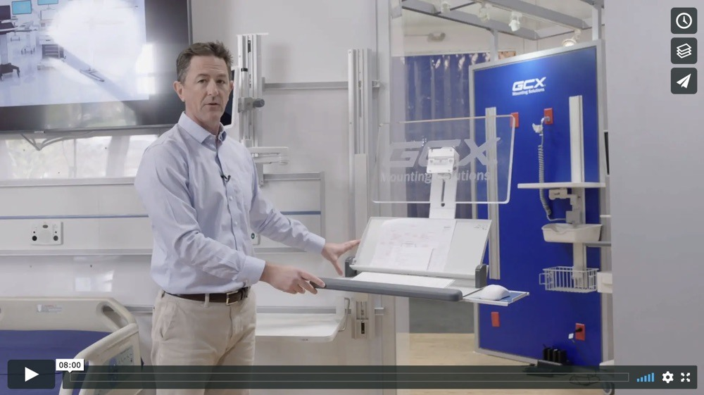 Wall-Mounted EMR Hardware Solutions