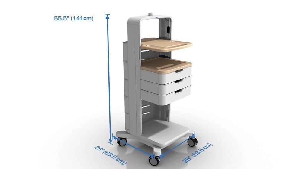 GCX Fetal monitoring Cart Promotional Video
