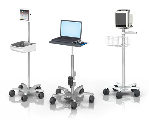 Infection control rollstands