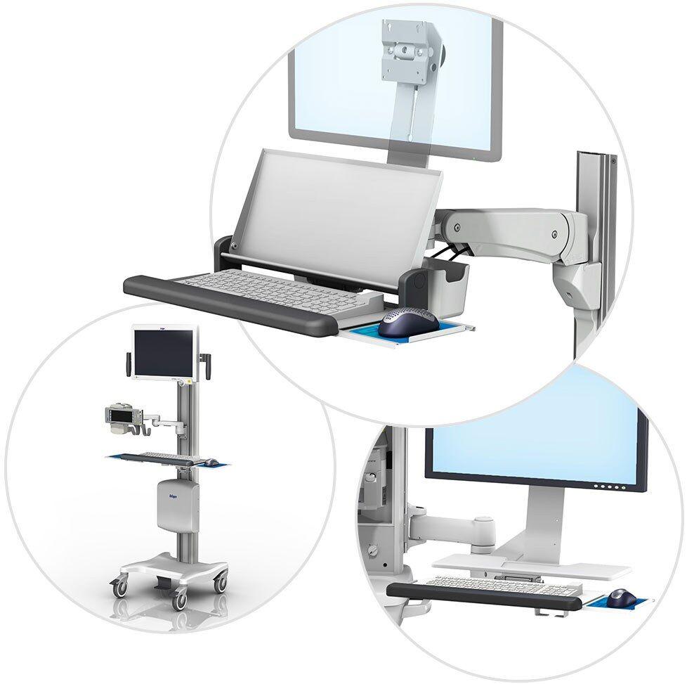 Ergonomic mounting solutions