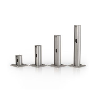 Dual Channel Counter Top Column