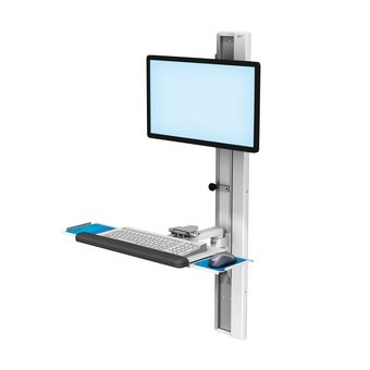 VHC Variable Height Channel with Monitor and Keyboard