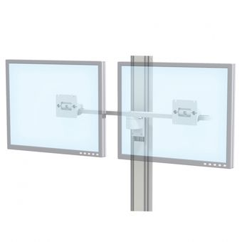 M Series Dual Monitor Mount