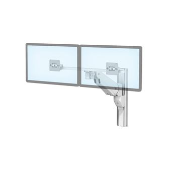 VHM-P Variable Height Arm for Dual Displays