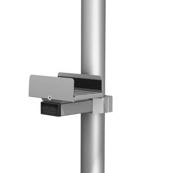 Montura al ras para UPS para poste de carrito médico de 2 in / 5.1 cm de diámetro
