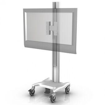 Montura móvil de altura variable para monitor grande de pantalla plana/TV