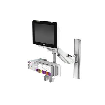 VHM 可变高度臂滑道架上的 Philips IntelliVue MX600/700/800