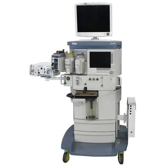 Dräger Apollo 上的 GE CARESCAPE 监护仪 B850