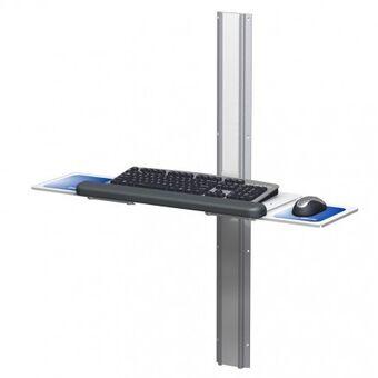 Flush Folding Keyboard Mount