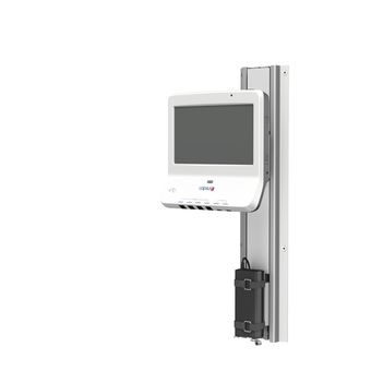 Capsule Neuron / Neuron 2 on M Series Flush Channel Mount with Tilt and Swivel
