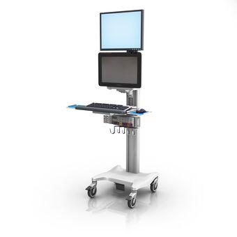 Philips IntelliVue MX600/700/800 VHRC 可变高度可配置工作站,带监护仪和键盘