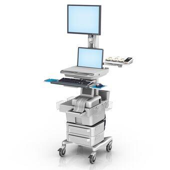 Philips FM20/30 胎儿监护工作站,带笔记本电脑安装架