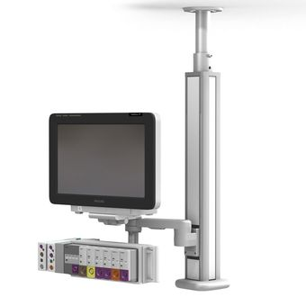 Philips IntelliVue MX600-850 Ceiling Mount on M Series Arm