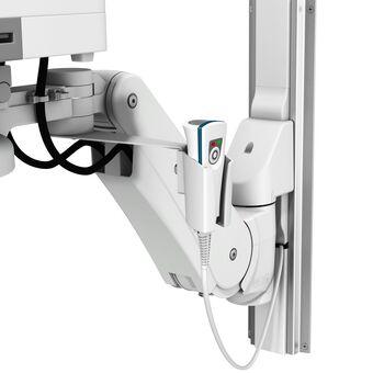 用于 M/VHM 臂的 Jadak HS-1 条形码扫描器架