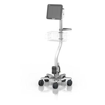 Socle roulant pour moniteur Spacelabs qube