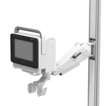 VHM 可变高度臂滑道架上的 Philips IntelliVue MX400/450/500/550