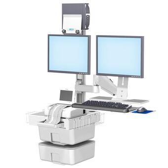 Philips FM20/30 胎儿监护双显示器壁挂式工作站,带 VHM
