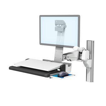 用于 L 型托架的条形码扫描器皮套架