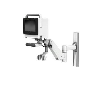 Philips IntelliVue MX400/450/500/550 sur support pour profilé à bras de hauteur variable VHM-PL avec verrouillage de position verticale