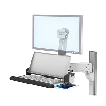 VHM-P Variable Height Arm Workstation with Multi-Position Work Surface