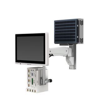 Nihon Kohden Lifescope G9 CSM-1900 sur support pour profilé à bras de hauteur variable VHM-P
