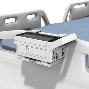 床导轨架上的 Philips IntelliVue X3/MX100