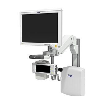 Dräger IACS sur support pour profilé à bras de hauteur variable VHM-P