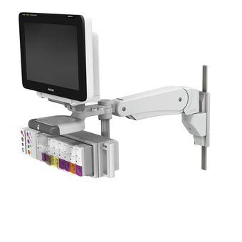 VHM-PL 可变高度臂上的 Philips IntelliVue MX600/700/800,带垂直导轨接口