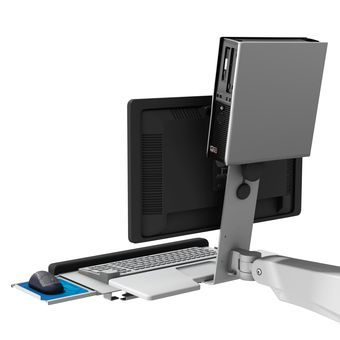 L Bracket Thin Client Attachment Mount