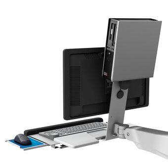 Support en L pour appareils aux normes de fixation VESA 75mm x 75mm ou 100mm x 100mm