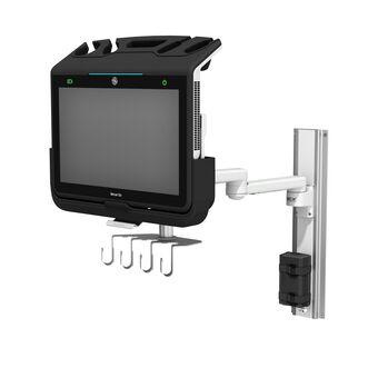 Échographe GE Healthcare Venue Go™ PoC sur bras série M monté sur profilé