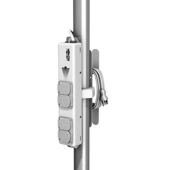 用于 Tripplite PS-415-HGULTRA 的电源板滑道和立柱架