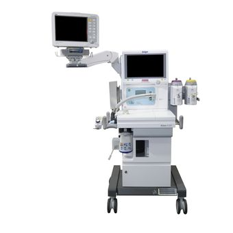 Dräger Atlan 350 上的 Dräger Infinity Delta 监护仪