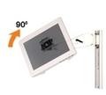 Interface plaque de fixation VESA 75 mm tournante