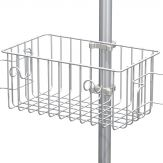 "Buy GCX 5.9""/15cm Basket with Cord Wrap and Cable Hooks for 1.25""/3.2cm Post"