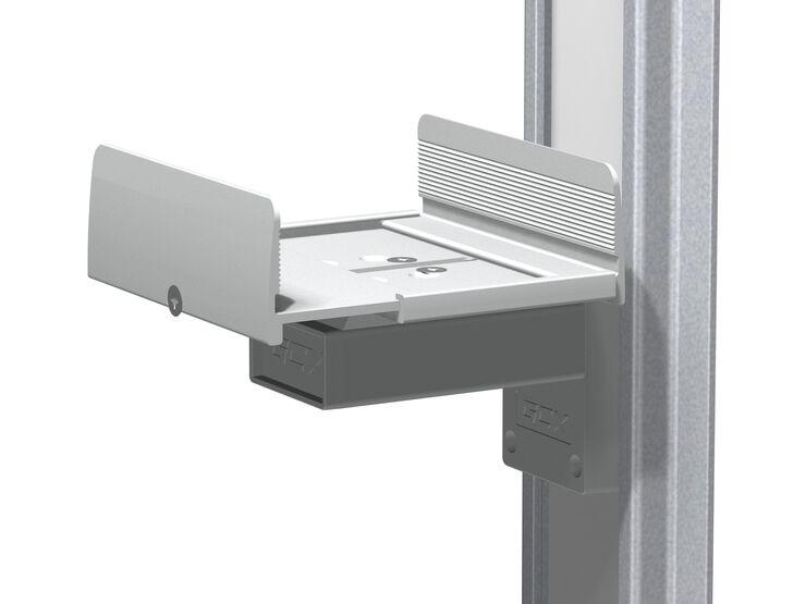 WM-0030-02 - 用于宽度为 5 英寸 - 8 英寸/ 12.7 厘米 - 20.3 厘米 UPS 设备的齐平滑道架