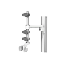 Carescape One 12in M Series 19in Channel 6inch Down Post 6inch Up Post Large Small Active Probe Holder Dual Hooks U 1