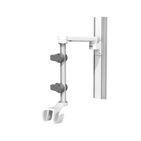 Carescape One 12in M Series 19in Channel 12inch Down Post Large Active Probe Holder Dual Hooks U 2