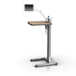 Compact Patient Table with Light Weight Tablet Arm