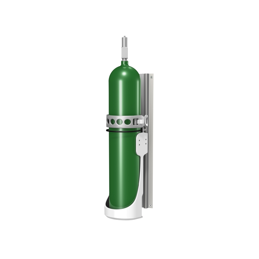 """Gas Cylinder Mount for Channel or 2""""/5.1cm Post"""