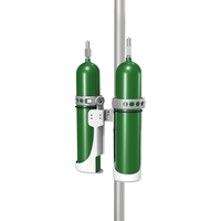 """Dual Gas Cylinder Mount for Channel or 2""""/5.1cm Post"""