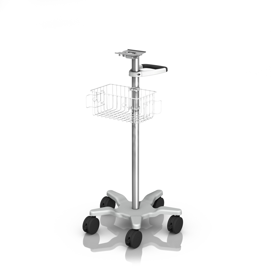 Roll Stand Kit with Slide-In Mounting Plate for Bottom-Mounted Devices