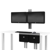 GE CCS dual Hor Monitor desk T