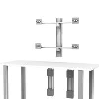 GE CCS 2x Dual Hor Monitor desk U 2