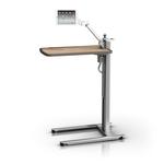 患者自理台,带用于平板电脑设备的 VHM-T 可变高度臂