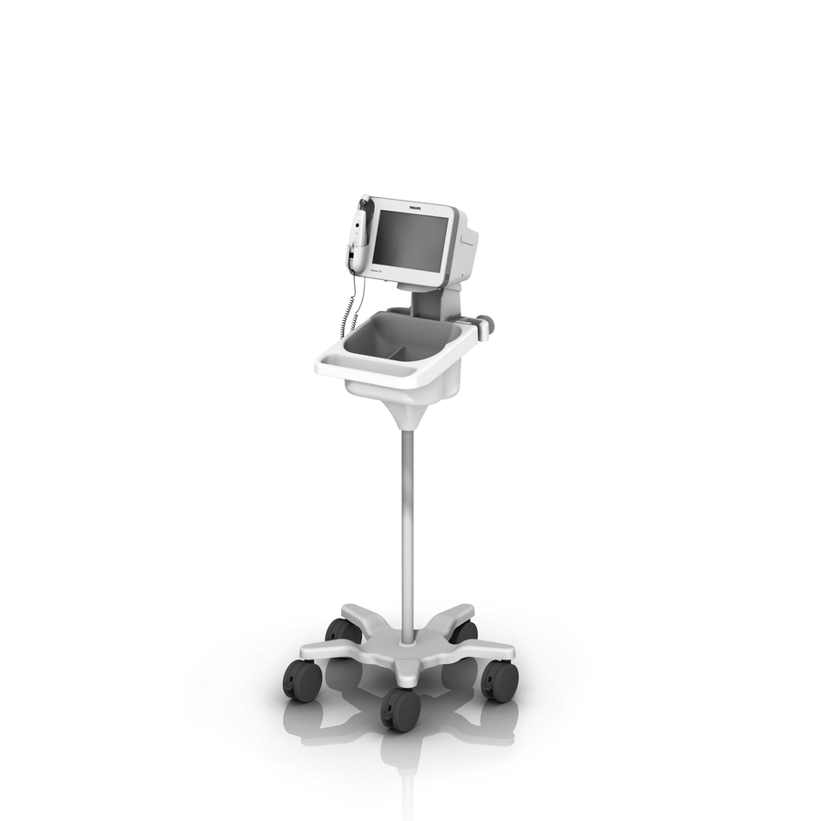 Philips VS30 Sure Signs Roll Stand Caster Loaded 1