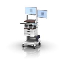 FMC Philips FM50 Bar Code Scanner Dual Monitor Sliding Keyboard ws 0008 04 Technical
