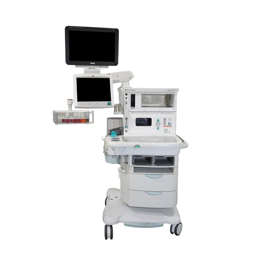 Philips IntelliVue MX600/700/800 on GE Healthcare Aisys/Aisys CS2